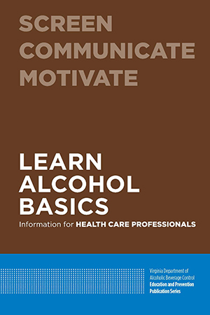 Virginia ABC Health Care Professionals Guide Publication Cover