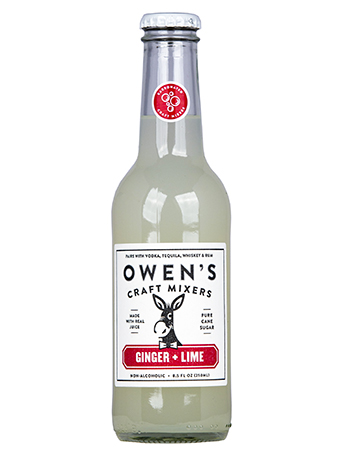 Owen S Ginger Lime Craft Mixer