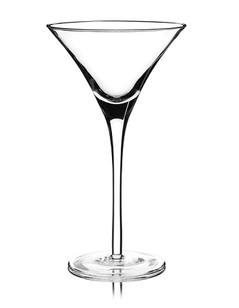 Martini cocktail glass
