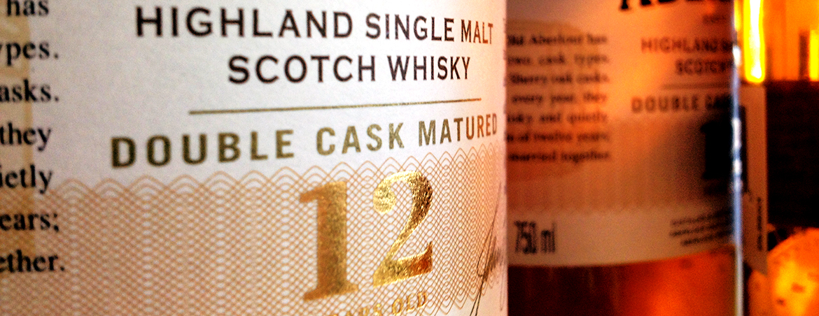 Scotch bottle label