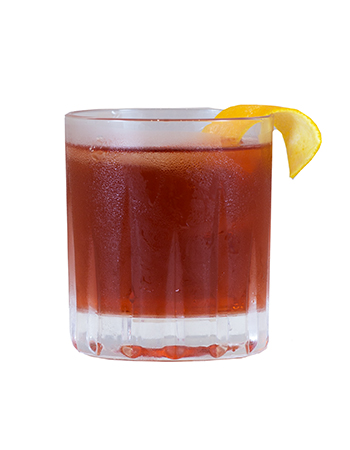 Boulevardier Mixed Drink