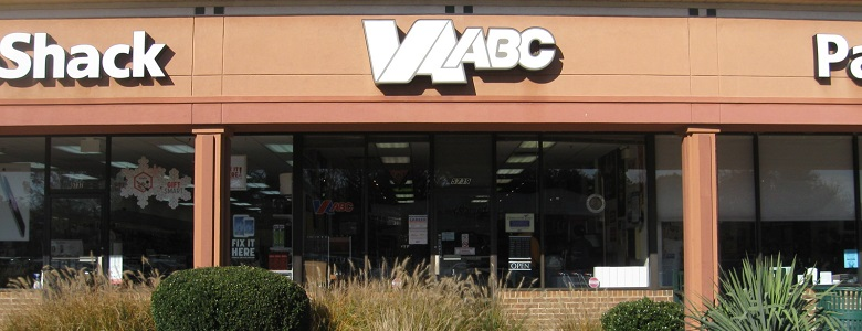Front of Virginia ABC central office in Richmond